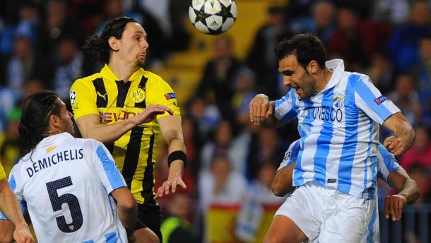 Dortmund torlos in Malaga