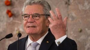 Schorlemmer attackiert Gauck