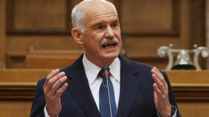 Papandreou kündigt Referendum über Hilfspaket an