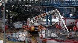 Chemieparkbetreiber geht von Tod der fünf Vermissten aus