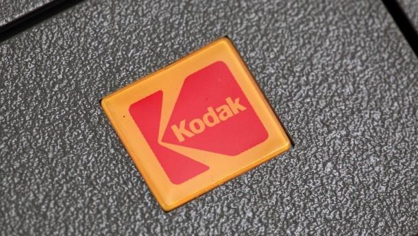 Amerikas Regierung setzt Gespräche über Kodak-Kredit aus