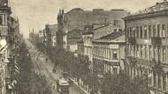 Die Marschalkowska Straße in Warschau.