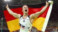 """""""Der Kopf ist nicht nur dazu da, Medaillen umgehängt zu bekommen."""" Aber auch. Fabian Hambüchen nach seinem Sieg am Reck in Rio 2016."""