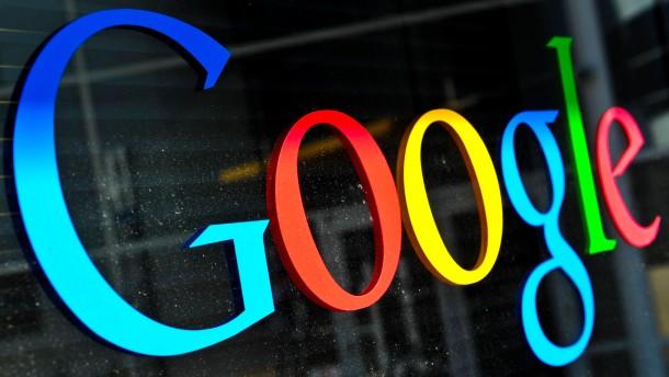 Wie kann man Google zum Löschen bringen?
