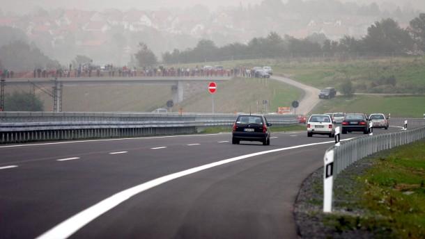 A 66 - der Neubau von der Kreisgrenze Fulda bis Neuhof/Süd wird für den Verkehr freigegeben