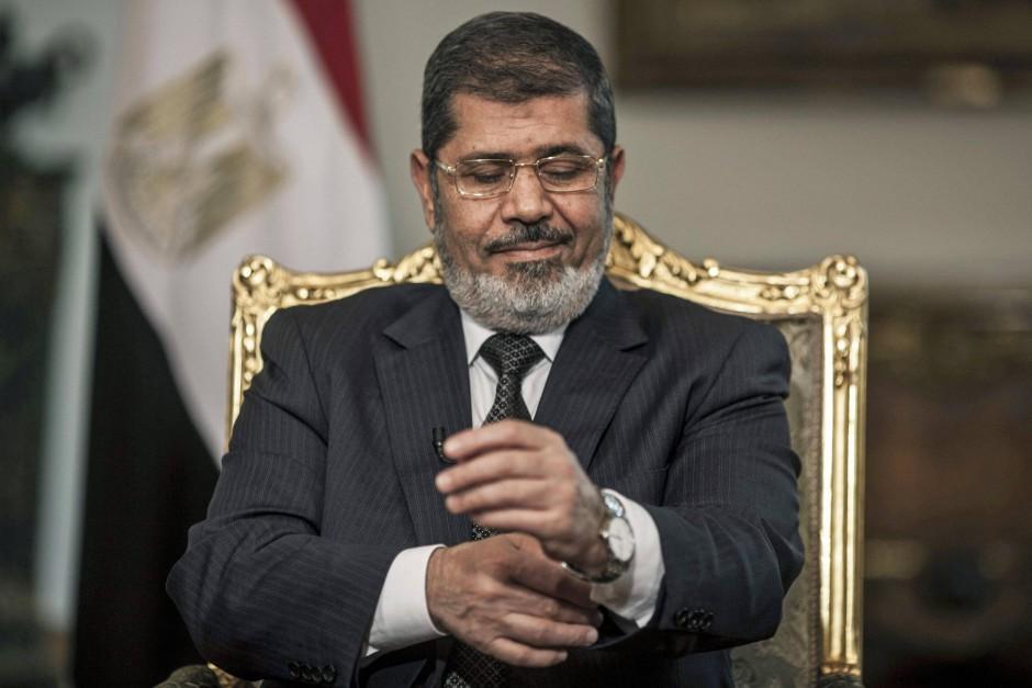 Seine Zeit ist abgelaufen: Ägyptens entmachteter Präsident Mohammed Mursi