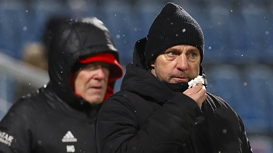 Abreibung in Kiel: Hansi Flick und der FC Bayern scheitern in der zweiten Runde des DFB-Pokals.