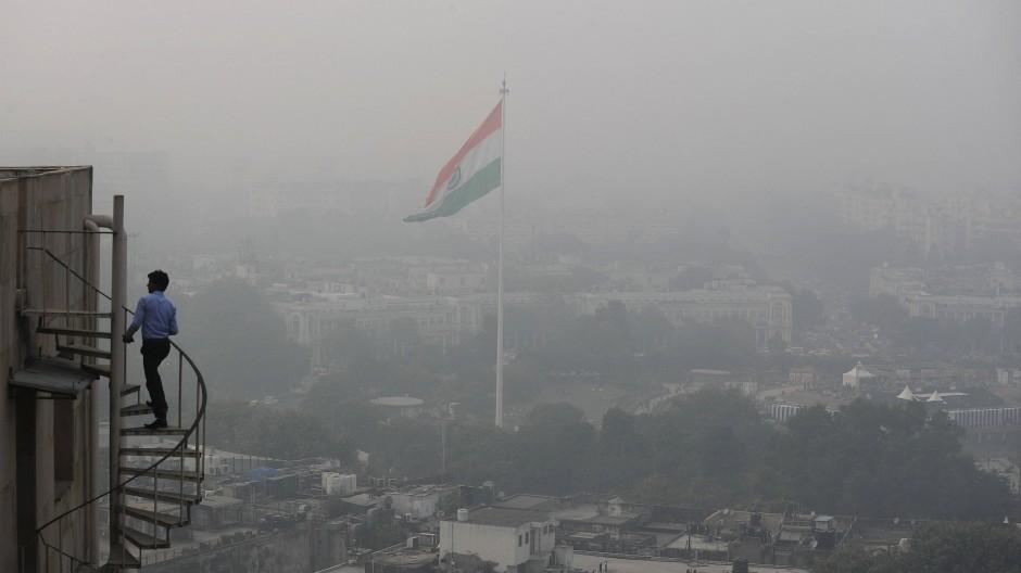 Dicke Luft in Neu-Delhi