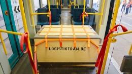 Die Straßenbahn soll Pakete transportieren