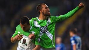 """Wolfsburg zerstört Arminias """"Almtraum"""""""