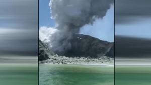 Mehrere Menschen nach Vulkanausbruch vermisst
