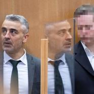 Der Anwalt Mustafa Kaplan (links) und sein Mandant Stefan E.