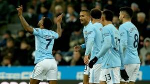 Manchester City weiter unaufhaltsam