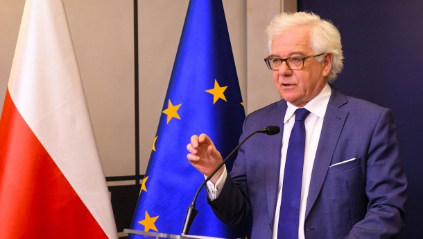 Polens Außenminister zurückgetreten