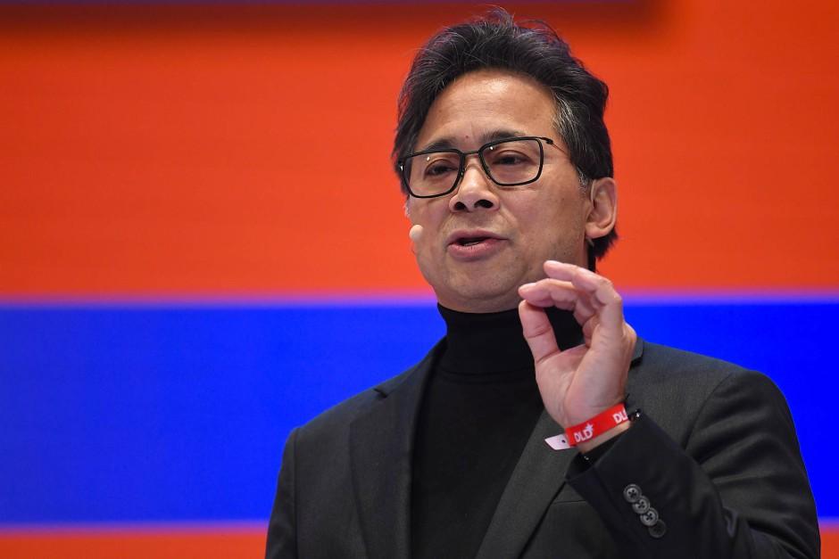 William Li auf der Digitalkonferenz DLD in München