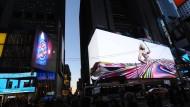 Der Times Square wird noch bunter
