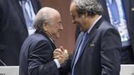 Platini will Blatter-Nachfolger bei der Fifa werden