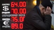 Wenn der Rubel nicht mehr rollt