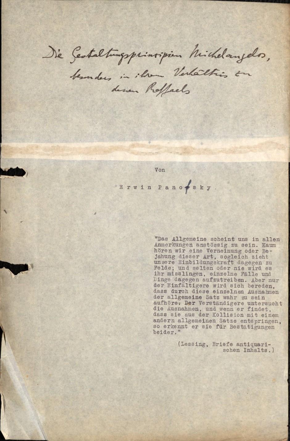 Das Manuskript umfasst ...