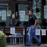 Essen gibt es nur noch zum Mitnehmen: Auch in Amerika haben die Restaurants geschlossen.
