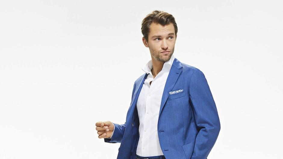 Geht auch ohne Krawatte: Die Mailänder Modemarke Boggi macht Businessmode für Männer.