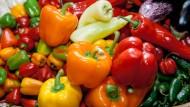 Gemüse essen? Machen Sie das freiwillig?