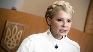 Timoschenko fordert Sanktionen gegen Janukowitsch