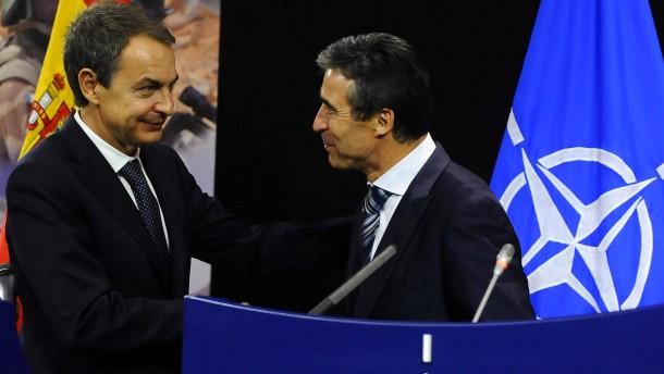 Amerikanische Zerstörer werden in Spanien stationiert
