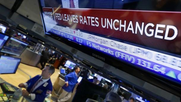 Neue Wirtschaftsdaten bestätigen Kurs der Fed
