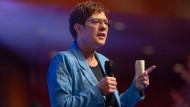 CDU-Vorsitzende Annegret Kramp-Karrenbauer beim Deutschlandtag der Jungen Union 2019 in Saarbrücken.