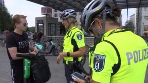 E-Roller-Kontrollen in Berlin