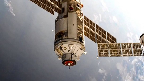 Russisches Forschungsmodul stößt ISS aus regulärer Flugbahn