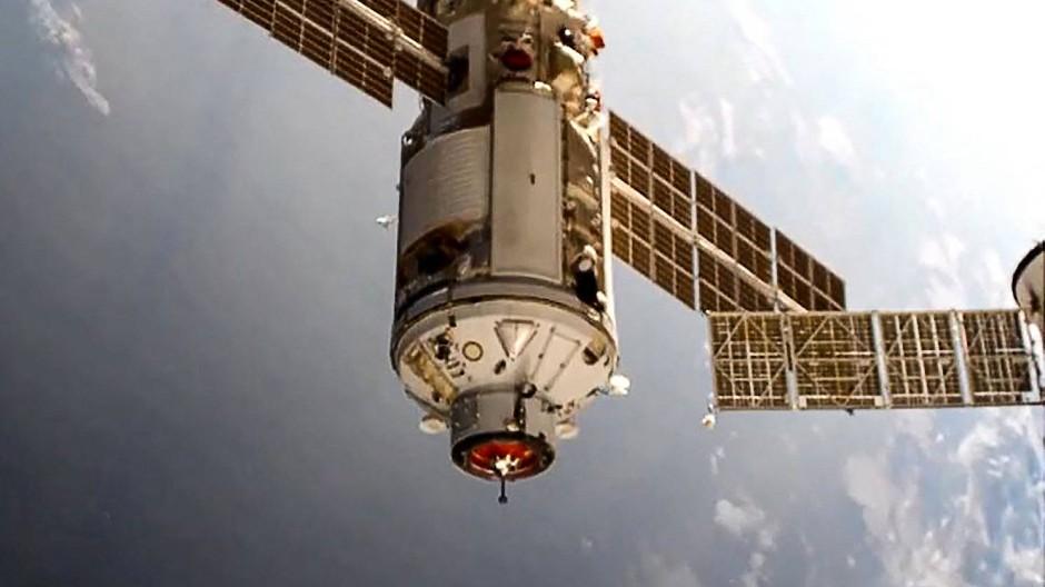 Andockmanöver an der ISS