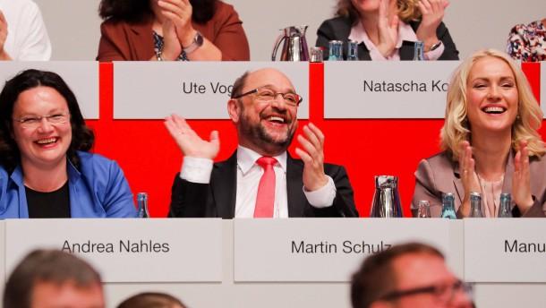 Bundestagswahl: SPD beschließt einmütig ihr Wahlprogramm