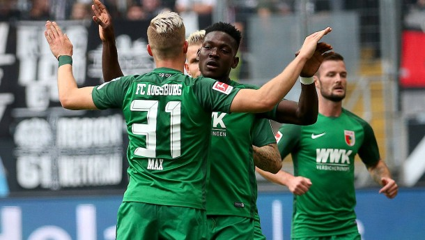 Augsburg überrascht auch in Frankfurt