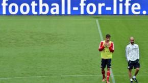 Pep Guardiola und Mario Gomez