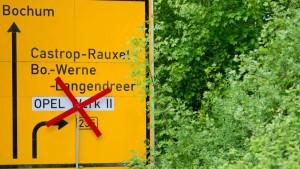 Opels Abschied von Bochum wird teuer