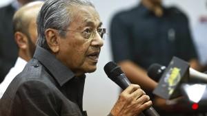 Malaysia kippt Schnellbahn nach Singapur