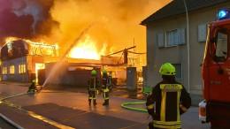 Großbrand in Mönchengladbach
