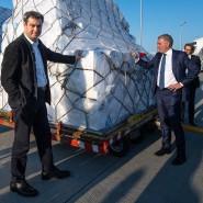 Will nicht nur die Lufthansa retten: Bayerns Ministerpräsident Markus Söder (CSU), hier im April mit Lufthansa-Chef Carsten Spohr.