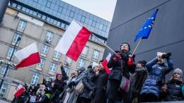Angriff auf Medienfreiheit in Polen