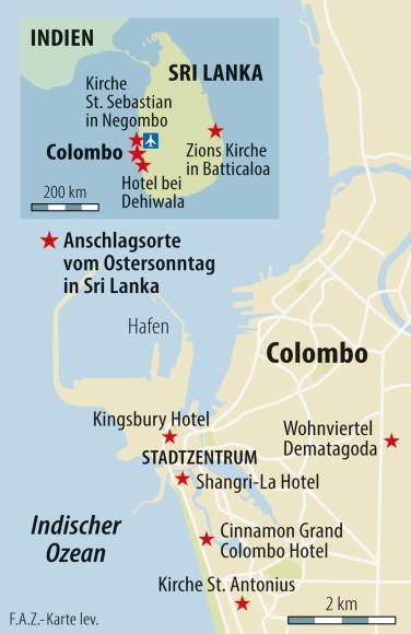 Sri Lanka Karte Zum Drucken.Bilderstrecke Zu Nach Anschlägen Fürchten Muslime In Sri Lanka