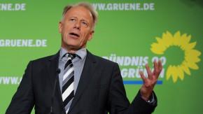 Pk mit Spitzenkandidat Jürgen Trittin