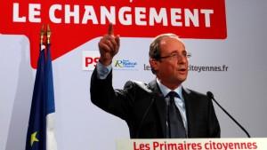 Hollande gewinnt Vorwahl