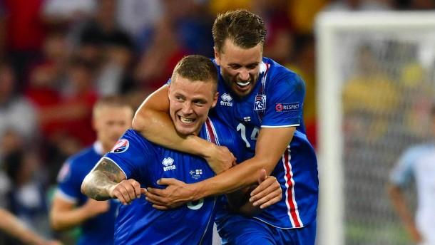 Islands Fußball-Märchen geht weiter