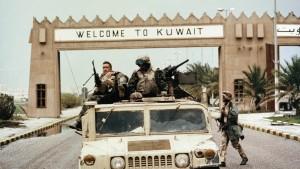 Sie feierten Präsident Bush wie einen Helden