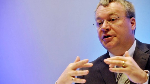 Nokia-Chef Stephen Elop