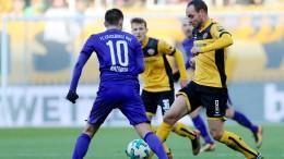 Dynamo Dresden zerlegt Erzgebirge Aue