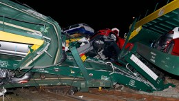 Strecke nach Autozug-Unfall gesperrt