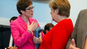 """AKK wird unsere nächste Kanzlerkandidatin sein"""